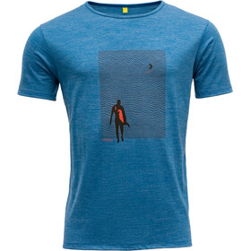 Devold Hoddevika Tee Men, skydiver